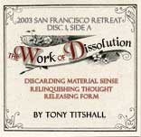 The Work of Dissolution CD